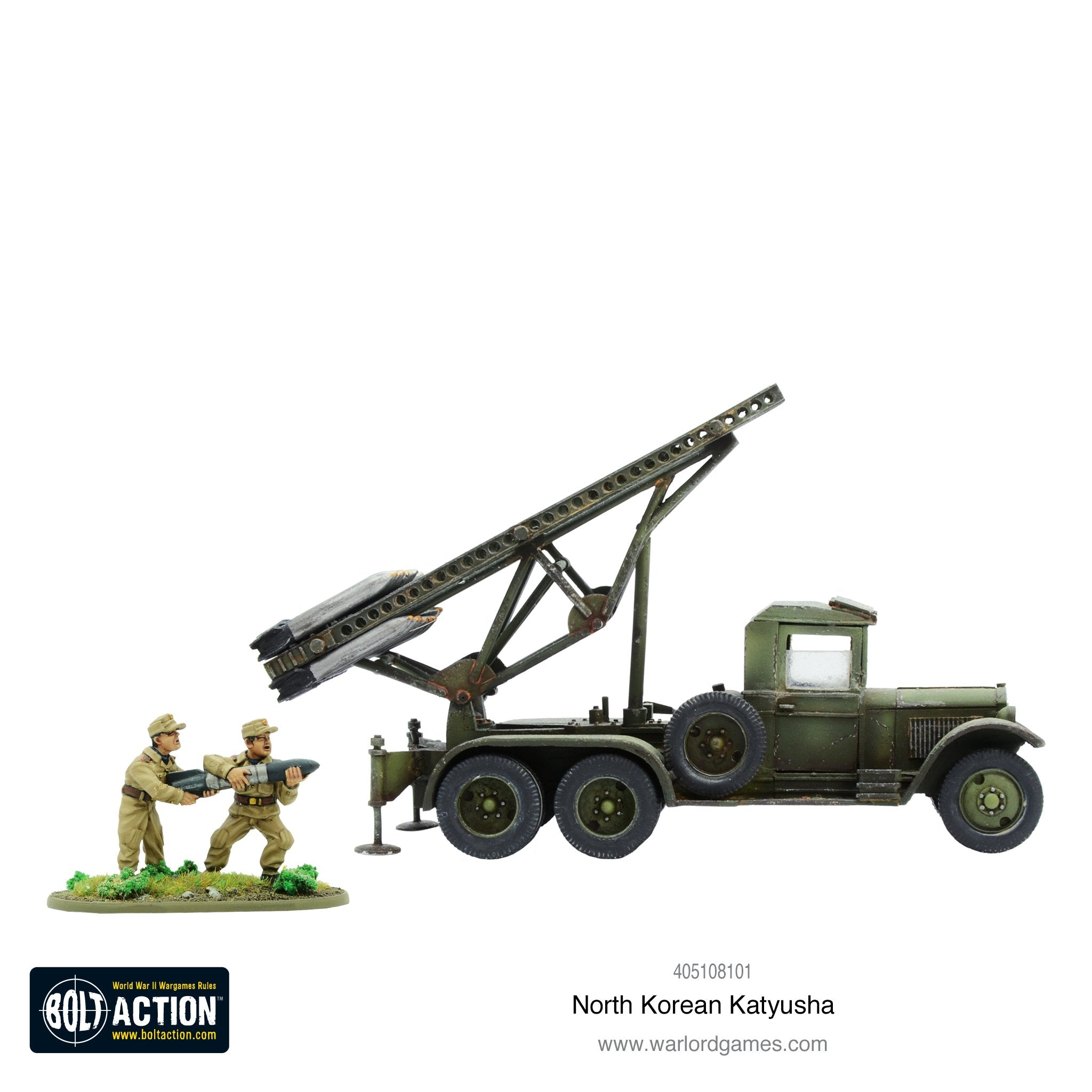 Korean War: North Korean KPA Katyusha