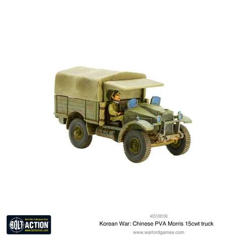 Korean War: Chinese PVA Morris 15cwt truck