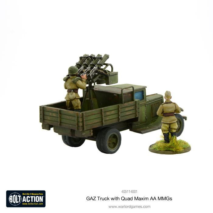 GAZ Truck with Quad Maxim AA MMGs