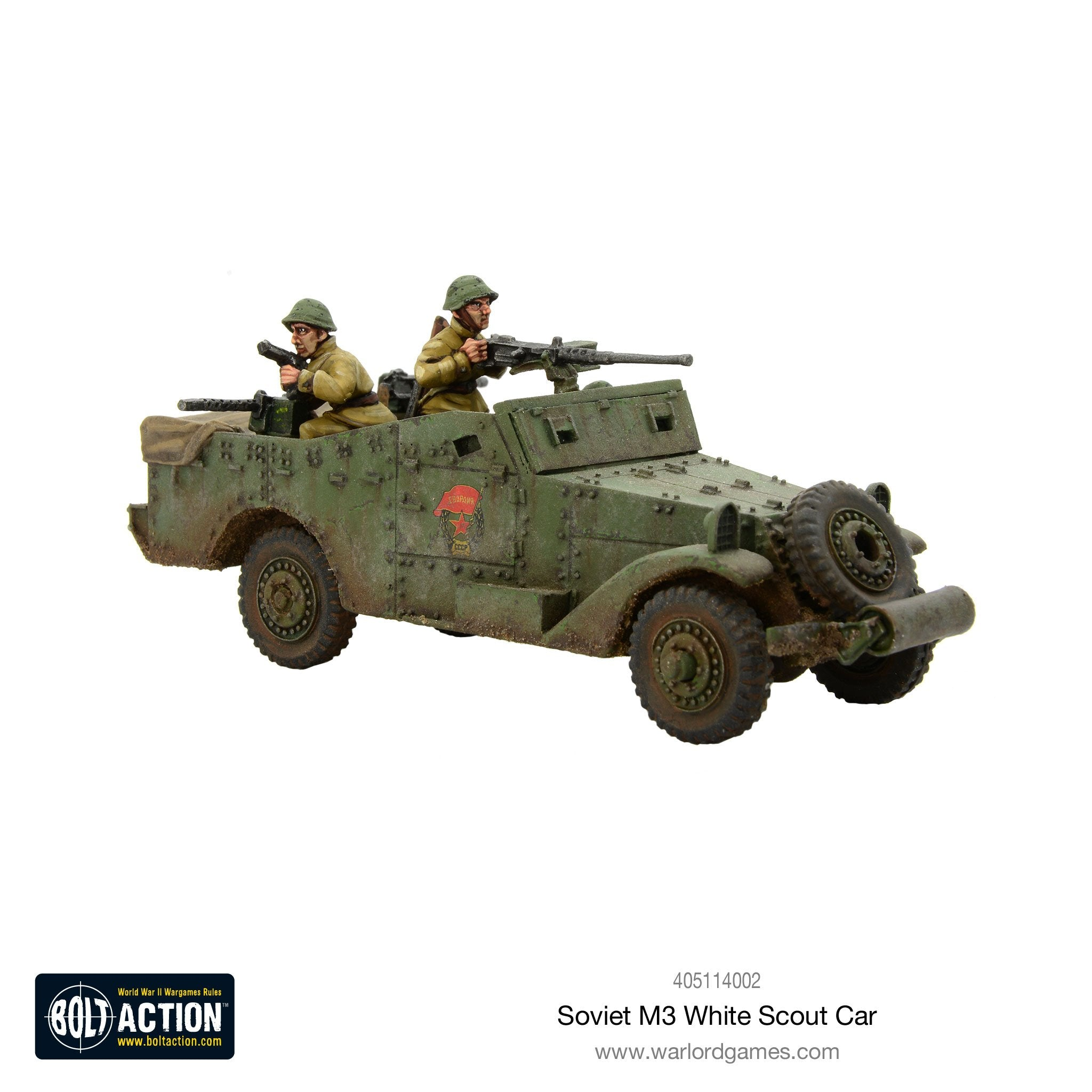Soviet White Scout Car Warlord Games Ltd