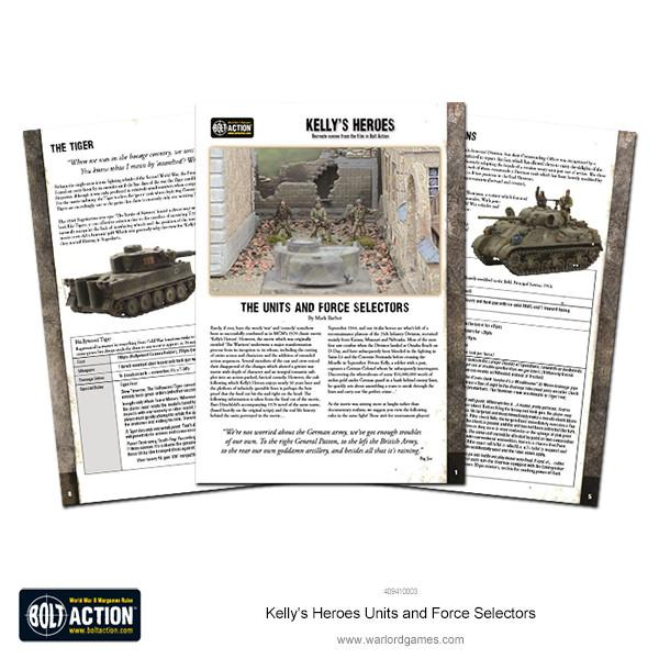 Kelly's Heroes Units and Force Selectors PDF