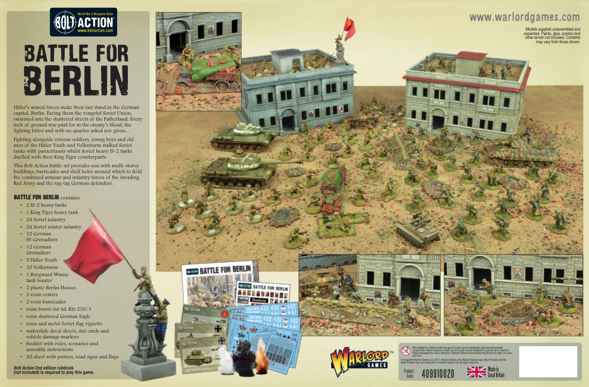 The Battle for Berlin battle-set