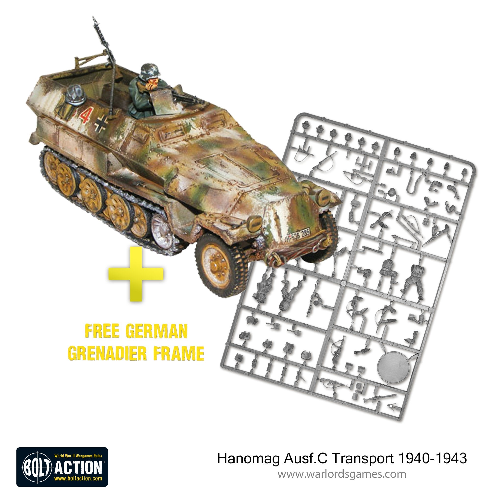 Hanomag Ausf.C Transport 1940-1943