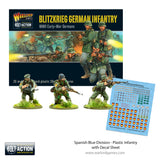 Spanish Blue Division - Plastic Infantry with Decal Sheet