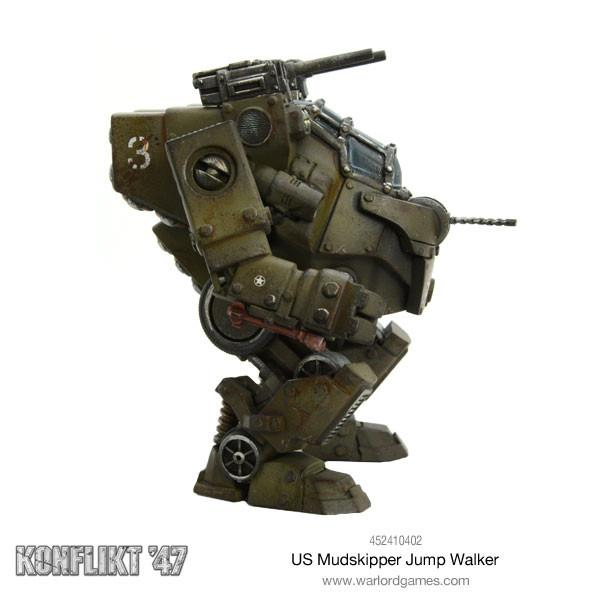 US Mudskipper Jump Walker