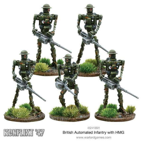 British Automated Infantry with HMG