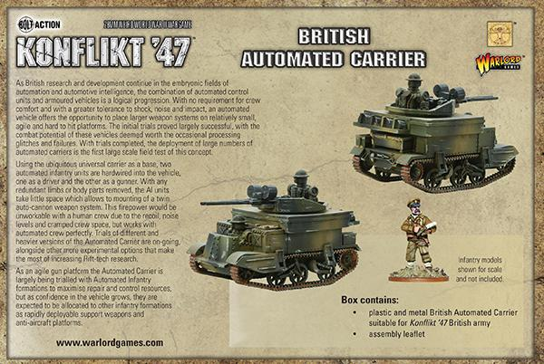 British Automated Carrier