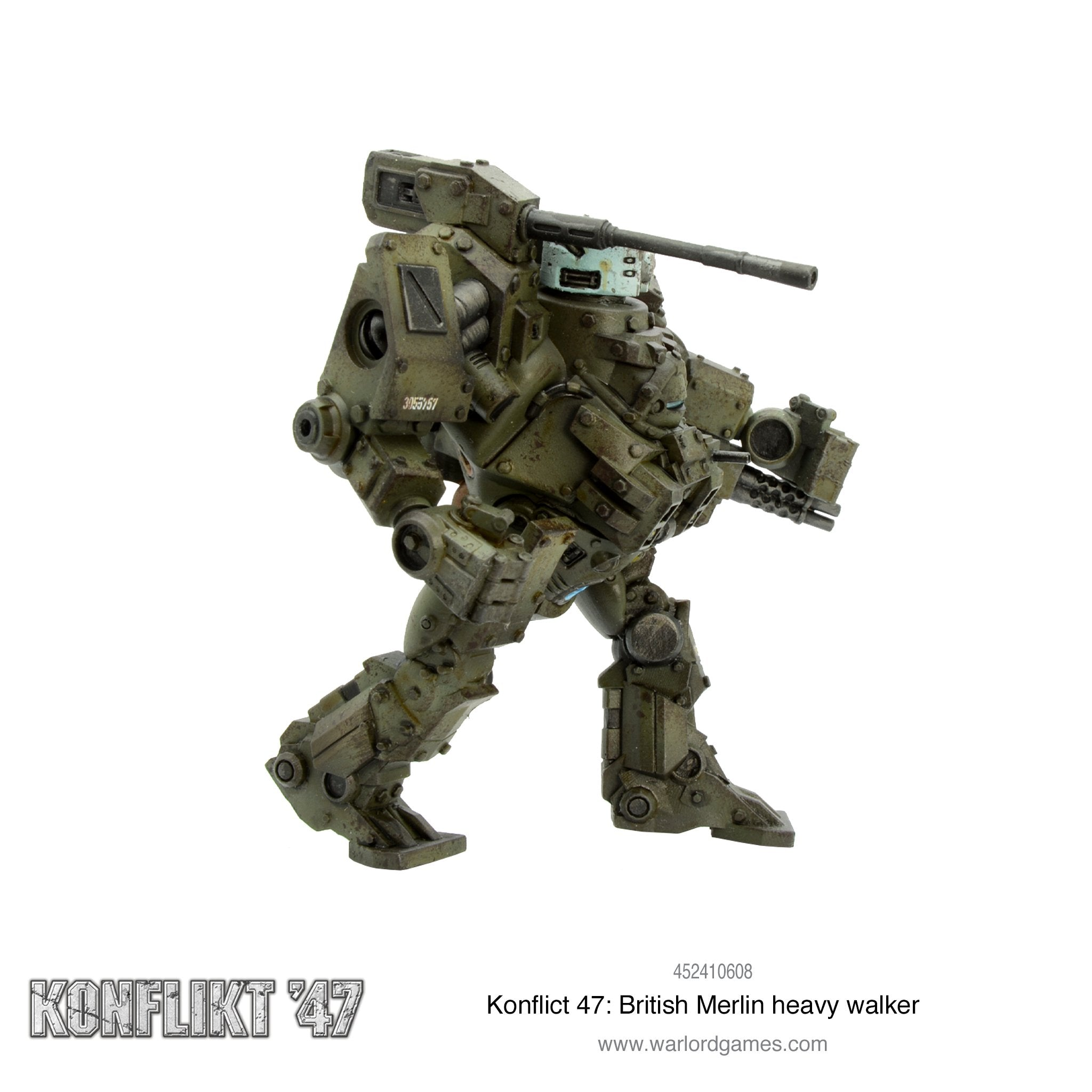 Konflikt 47: British Merlin heavy walker