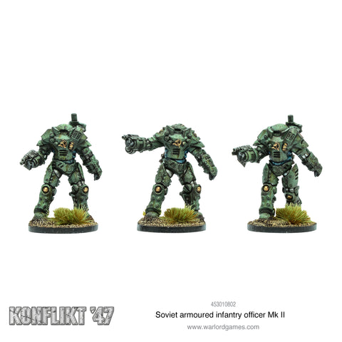 Konflikt 47: Soviet armoured infantry officer Mk II