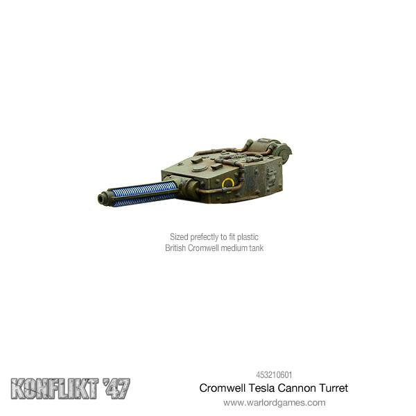 Cromwell Tesla Cannon Turret