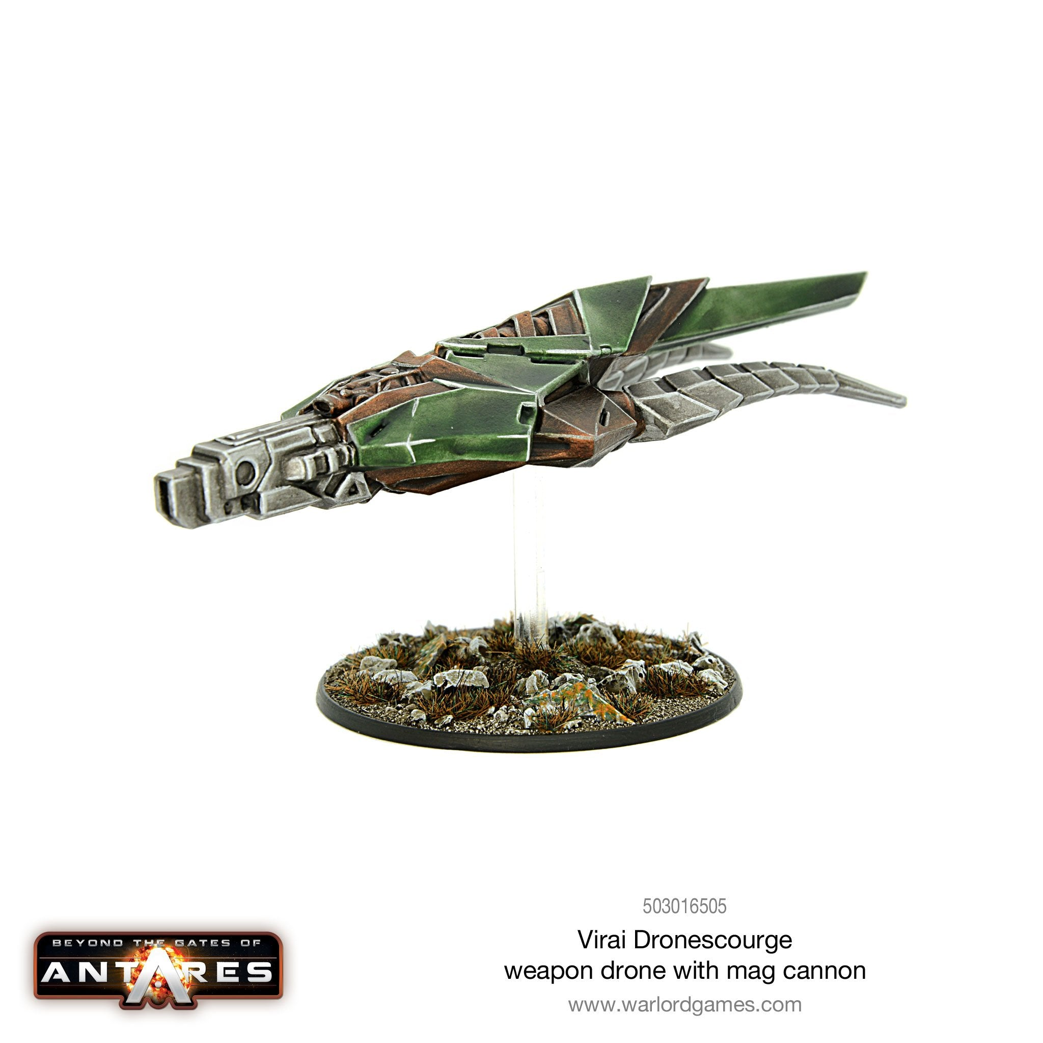 Virai Dronescourge weapon drone with mag cannon