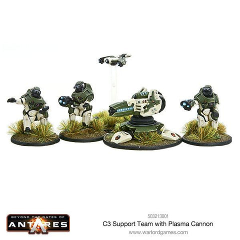C3 Support Team with Plasma Cannon