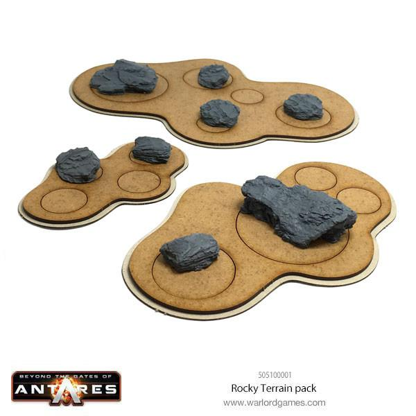 Rocky Terrain pack with modular board
