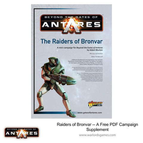 Raiders of Bronvar - A Free PDF Campaign Supplement