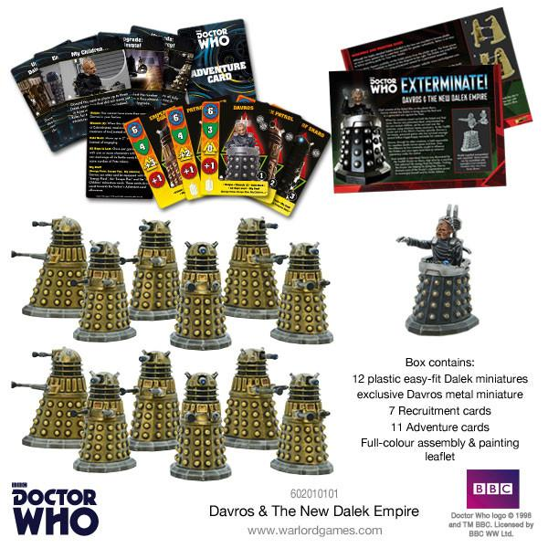 Davros & The New Dalek Empire
