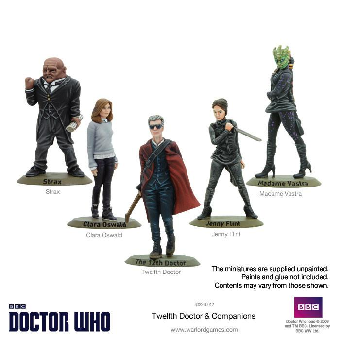 Twelfth Doctor and Companions Set