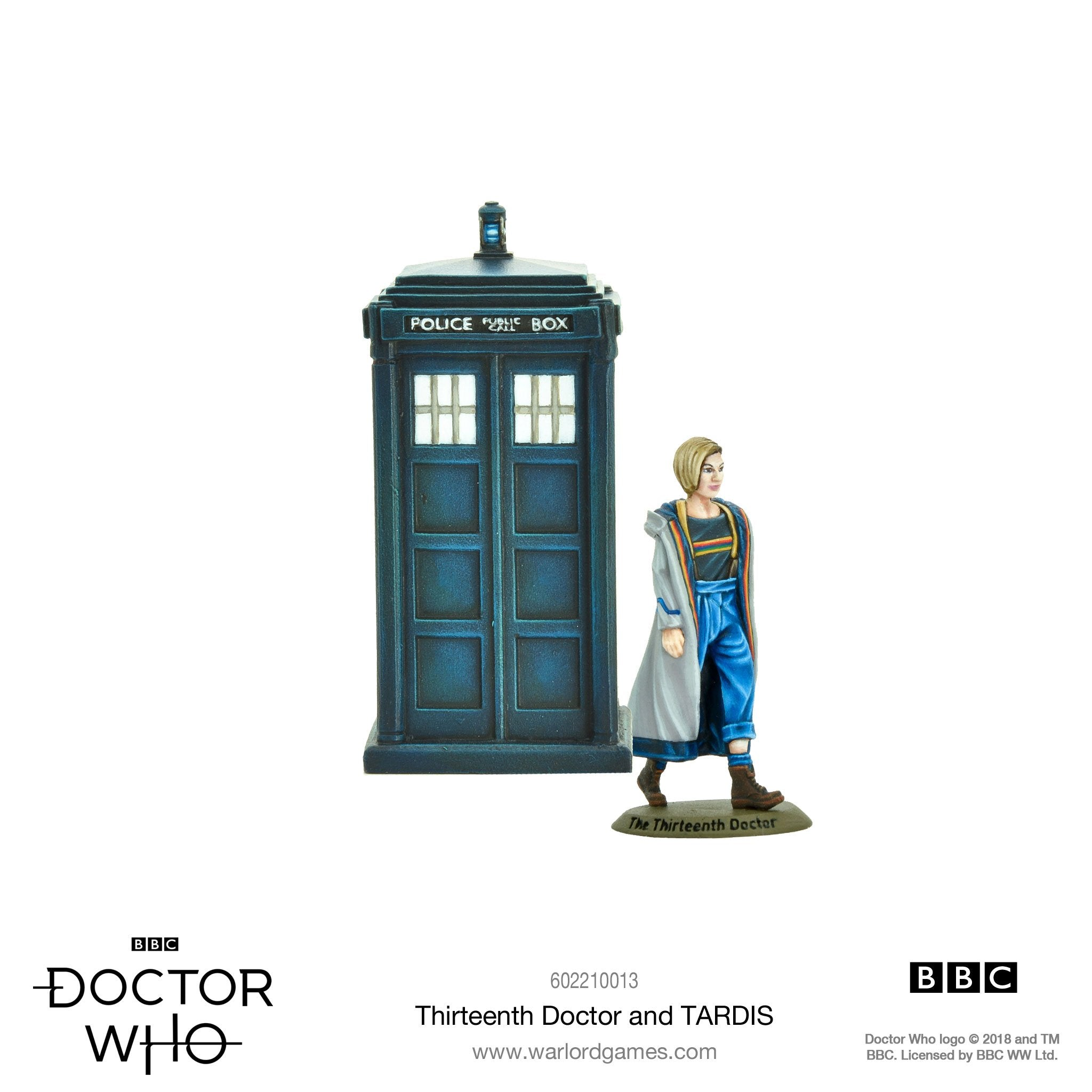 The Thirteenth Doctor & TARDIS