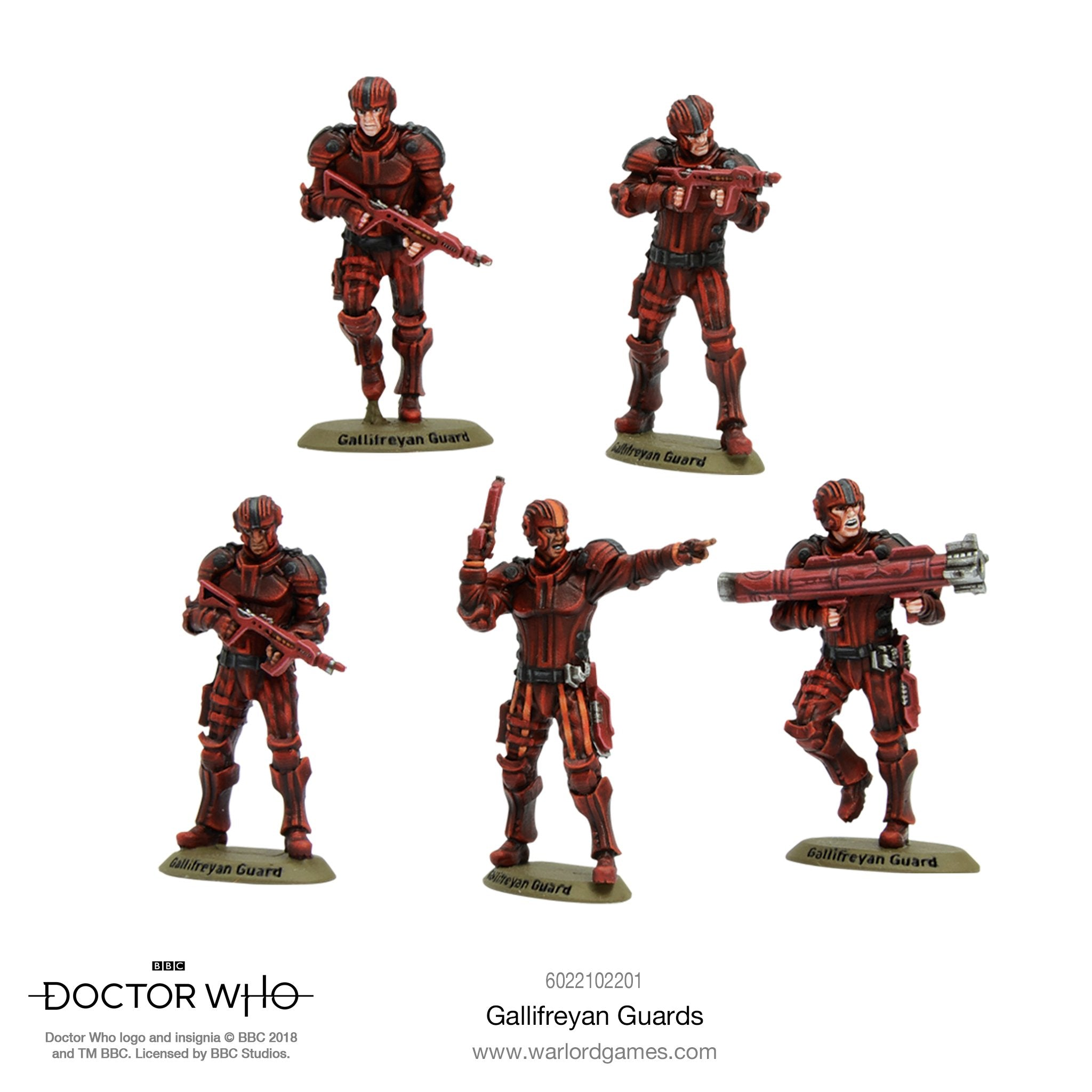 Doctor Who Gallifreyan Guards