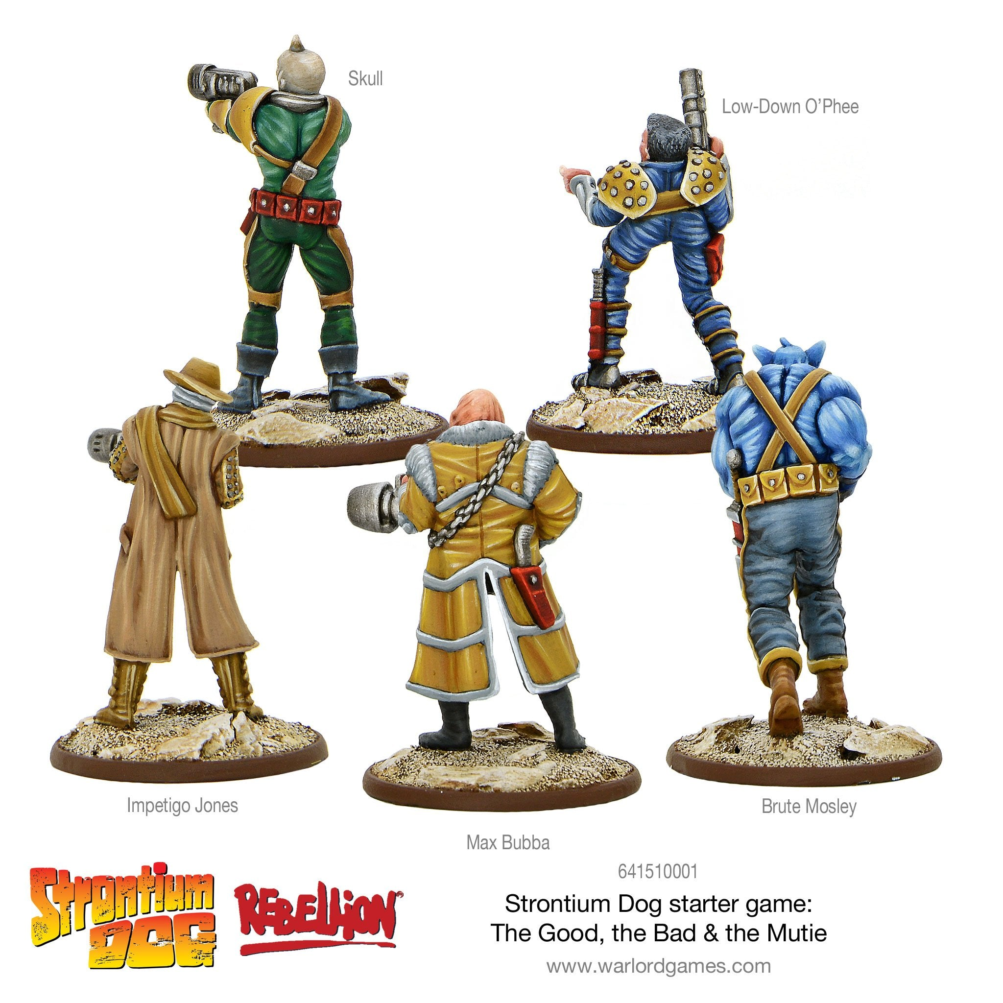Strontium Dog: The Good the Bad and the Mutie starter game