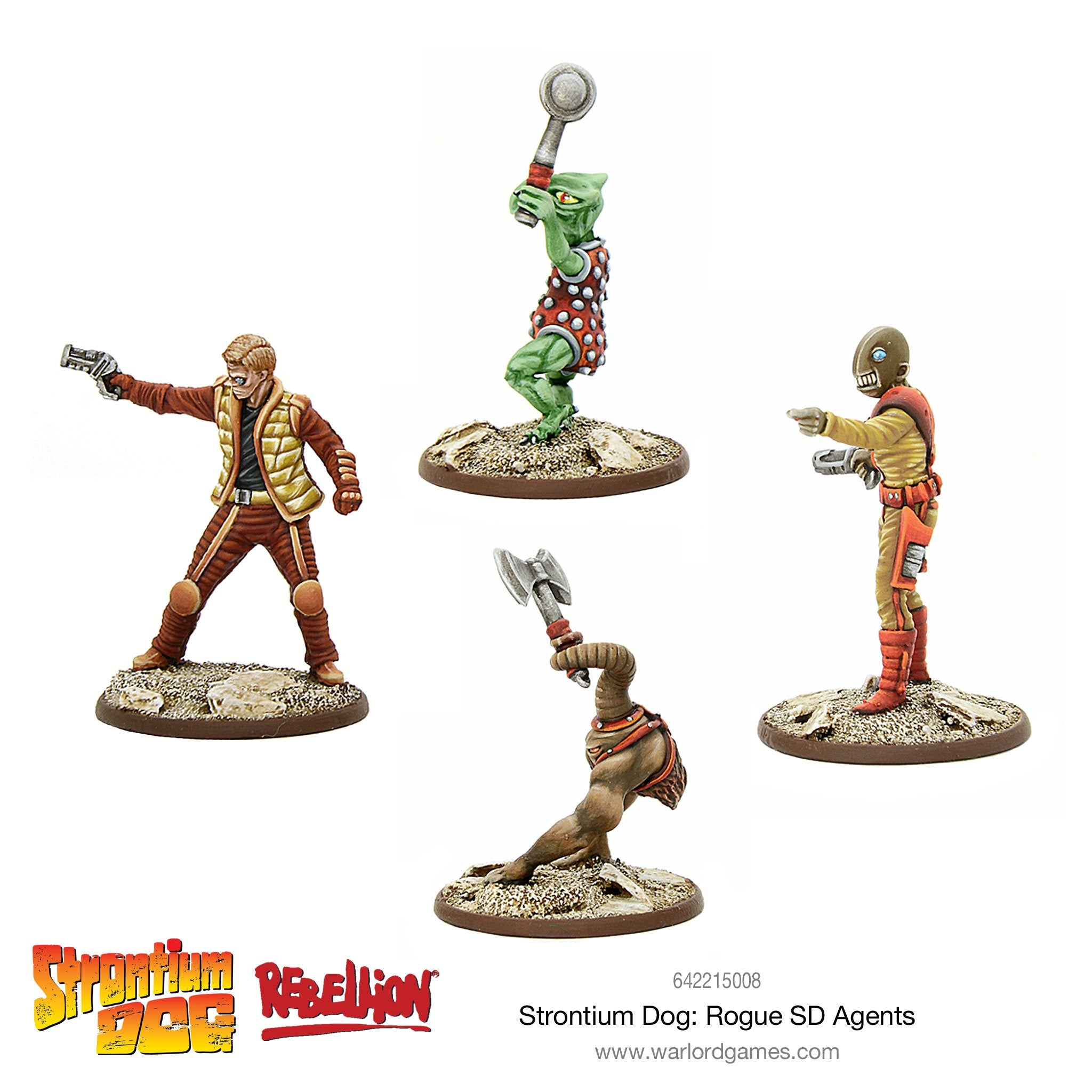 Strontium Dog: Rogue SD Agents