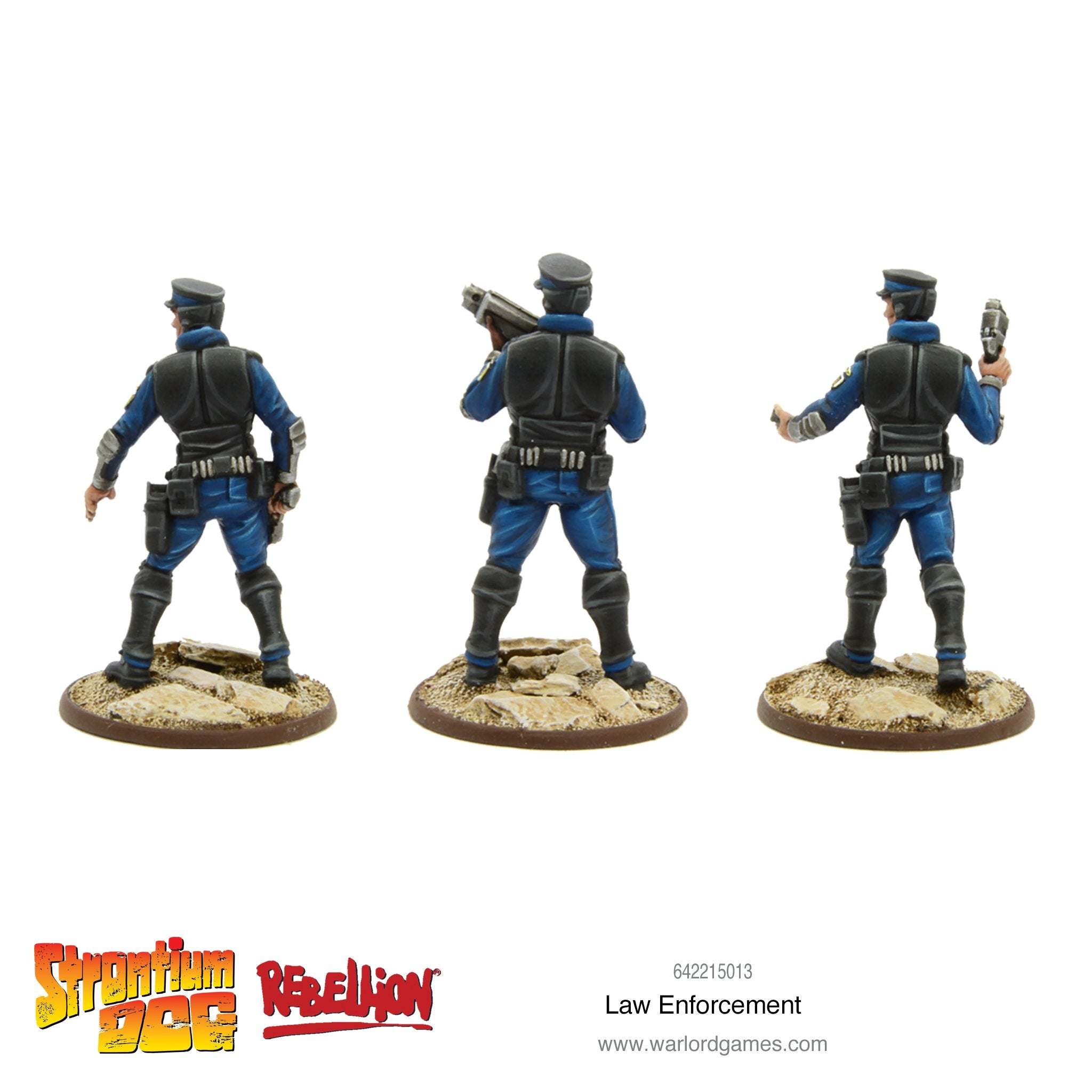 Strontium Dog: Law Enforcement