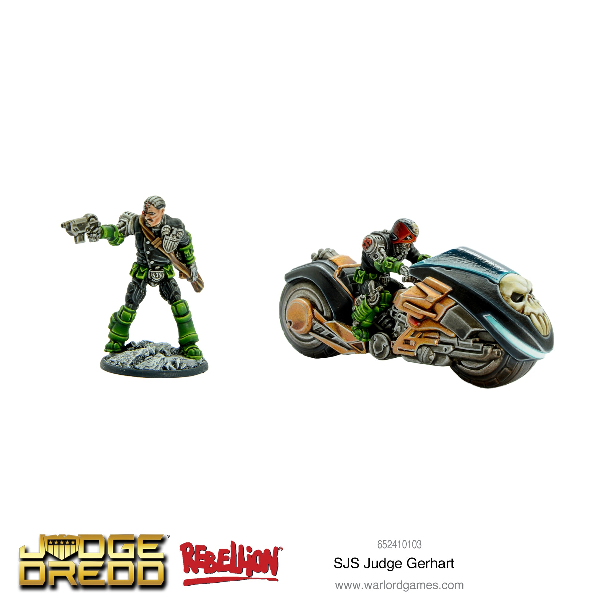 Judge Dredd: SJS Judge Gerhart