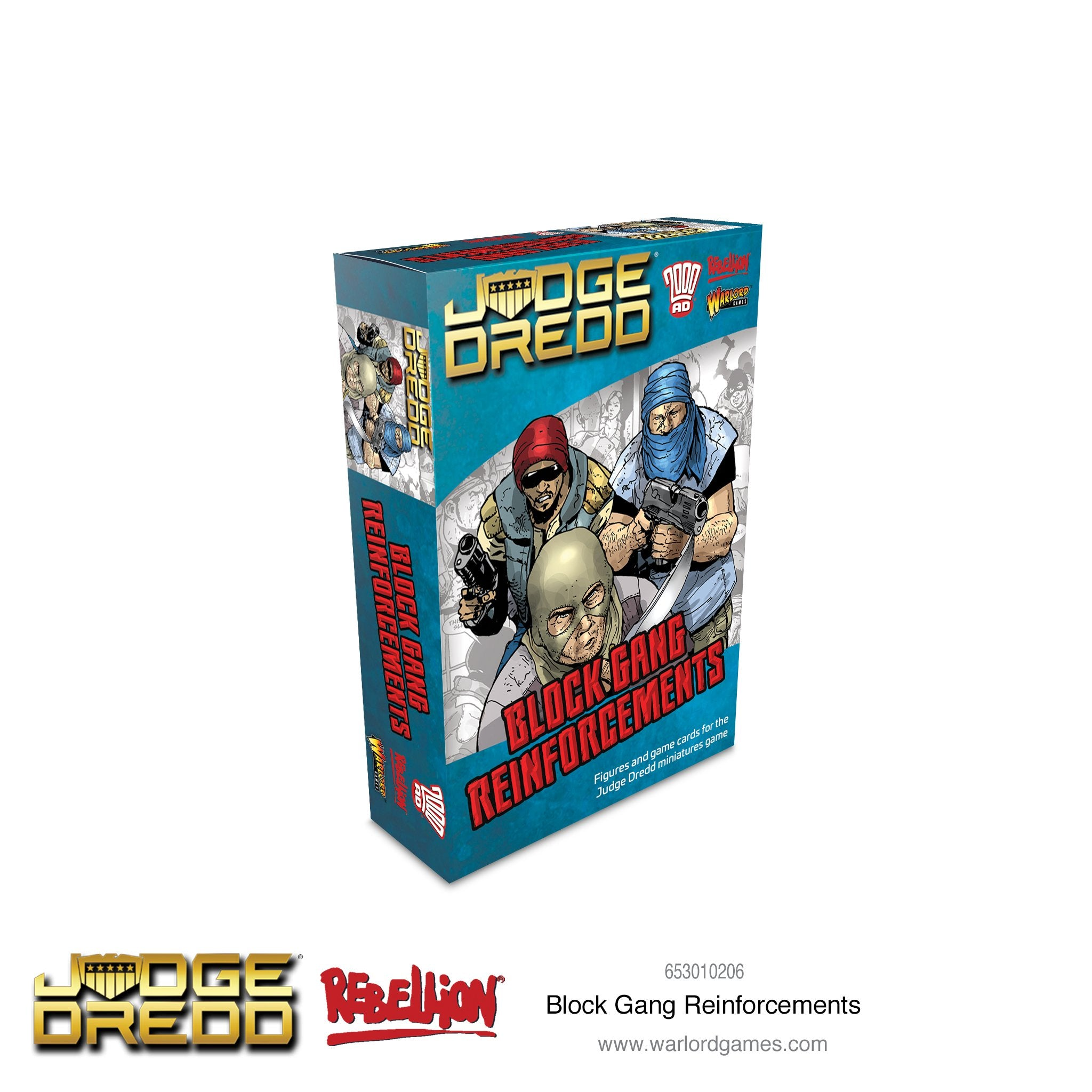 Dredd: Block Gang reinforcements