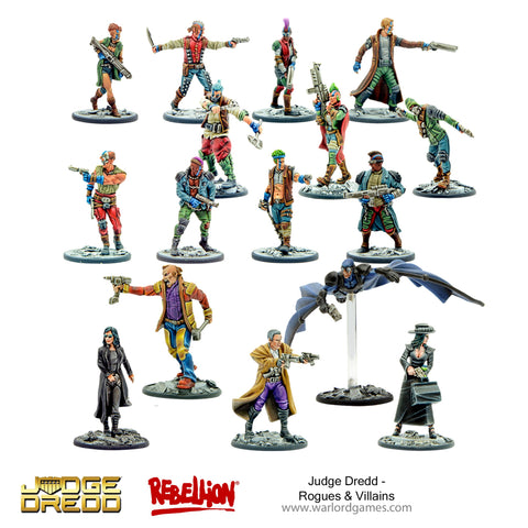 Judge Dredd Rogues & Villains