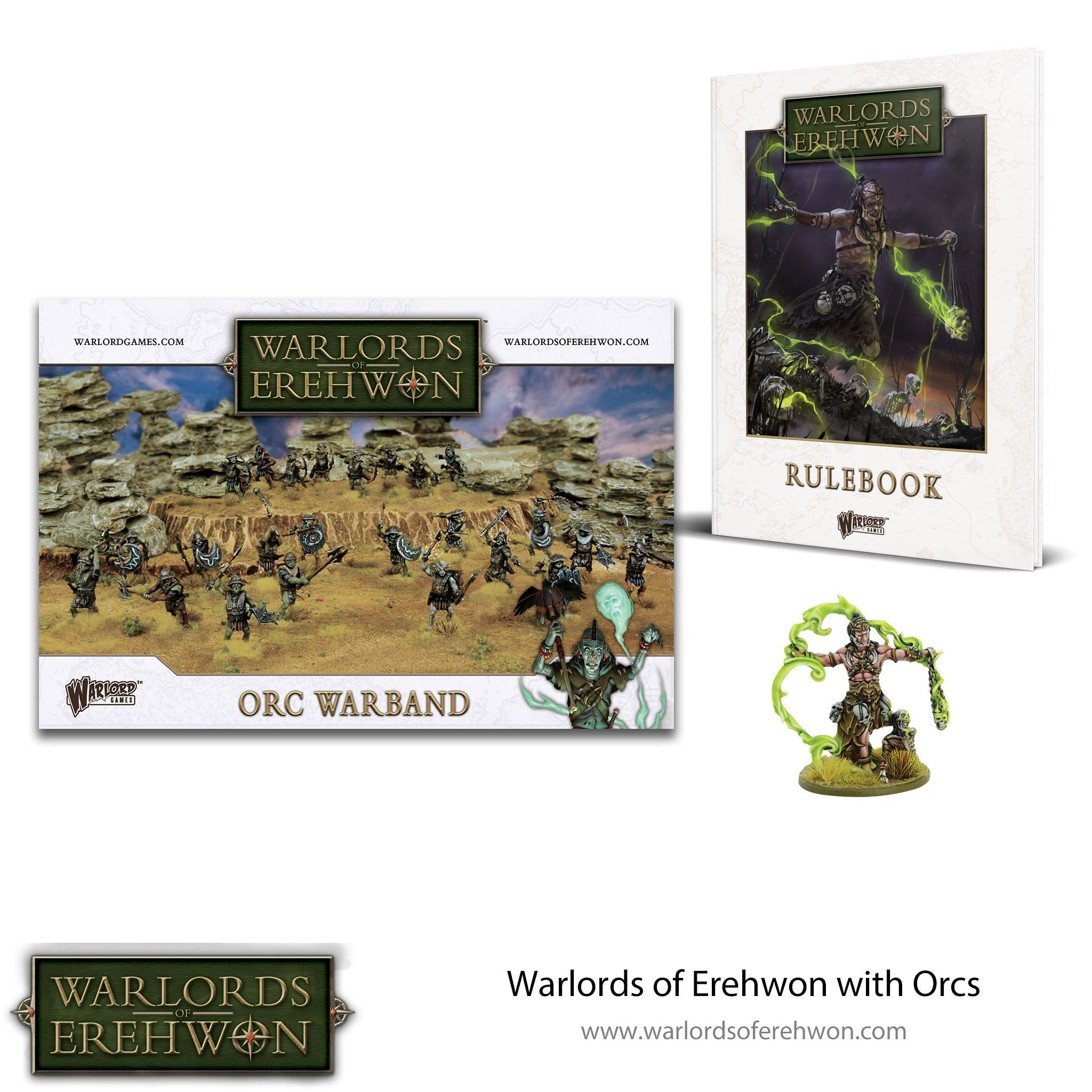 Warlords of Erehwon with Orcs