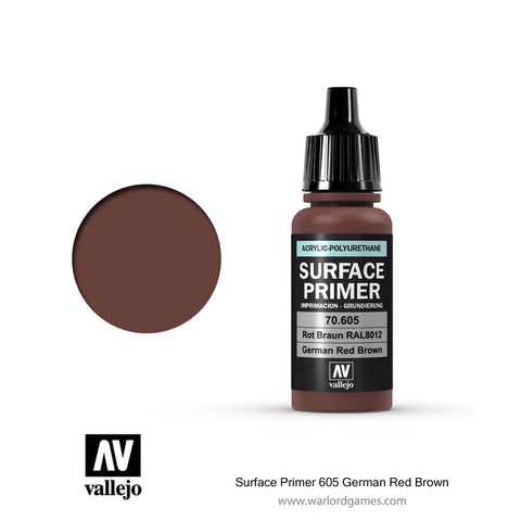 Surface Primer 605 German Red Brown