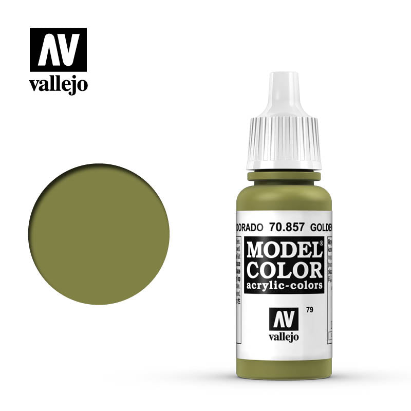 Vallejo Model Colour 857 Golden Olive