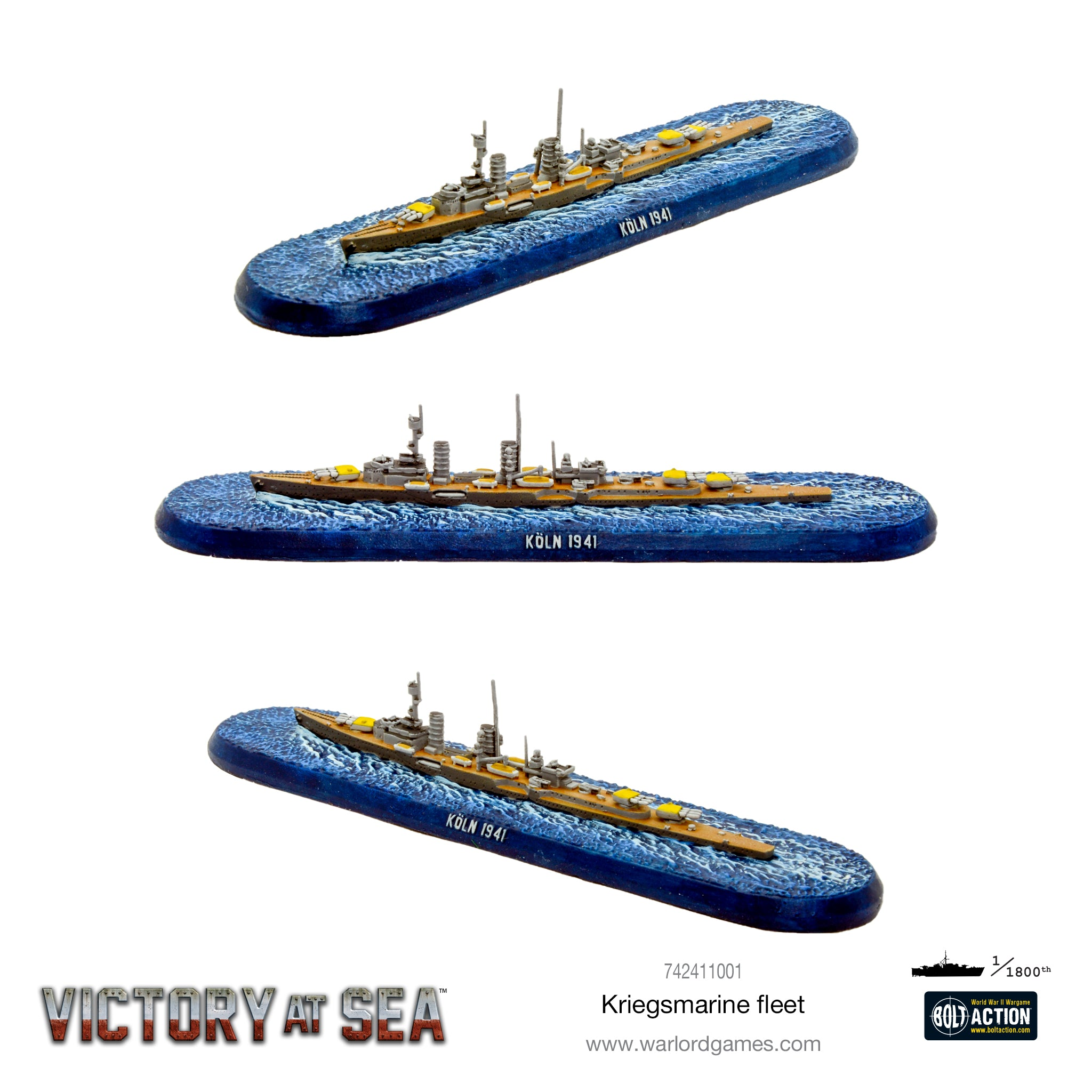 Victory at Sea Kriegsmarine fleet