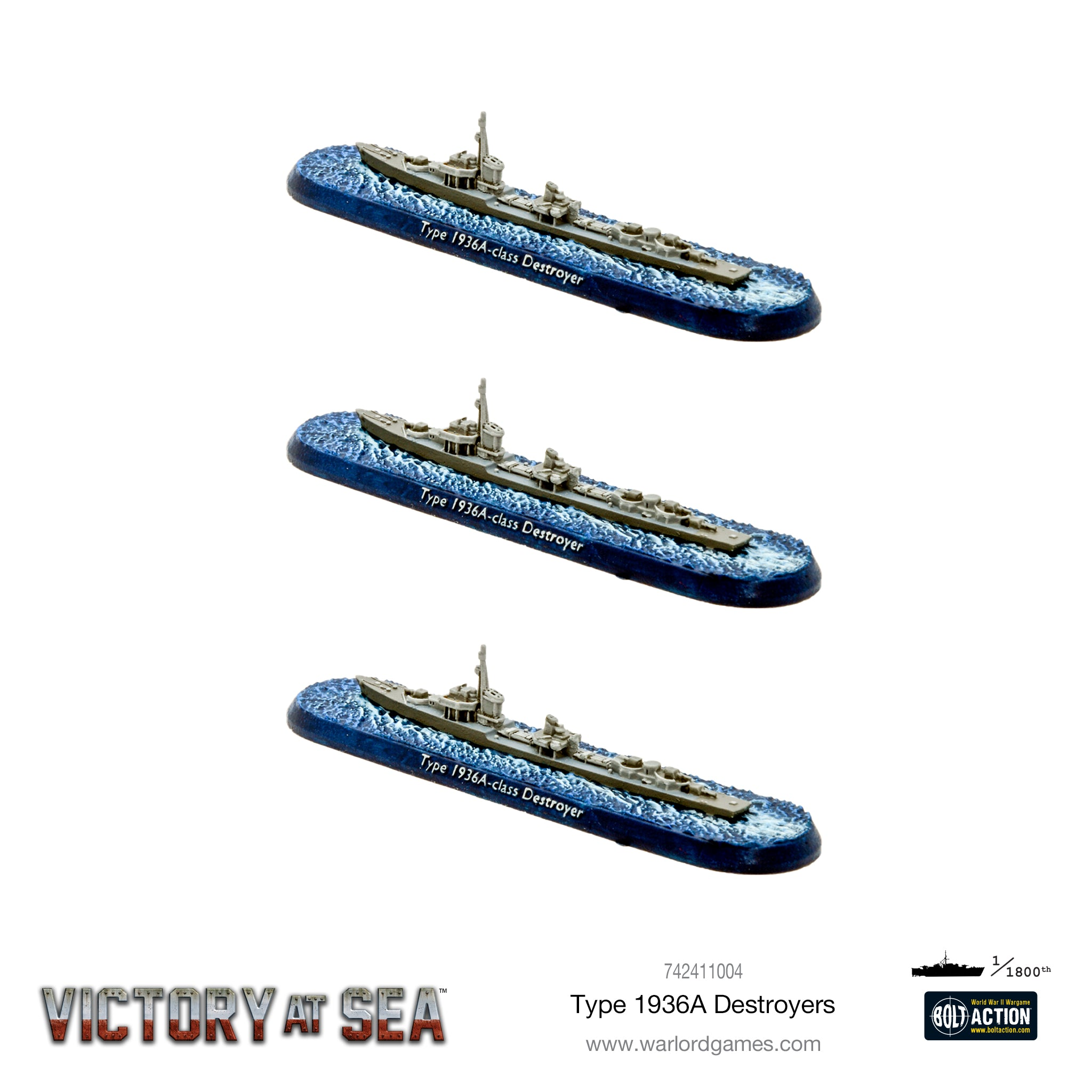 Victory at Sea - Type 1936A Destroyers