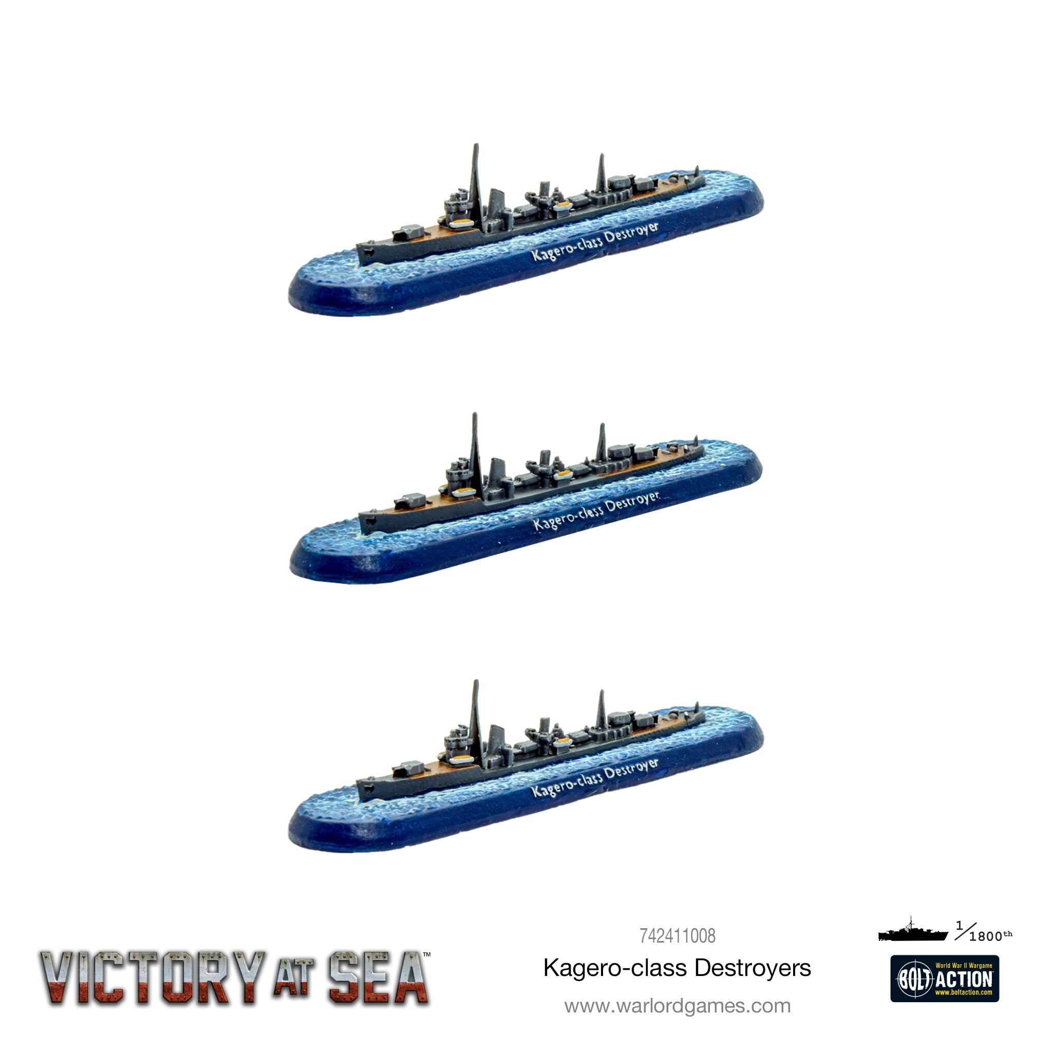 Victory at Sea - Kagero-class Destroyers