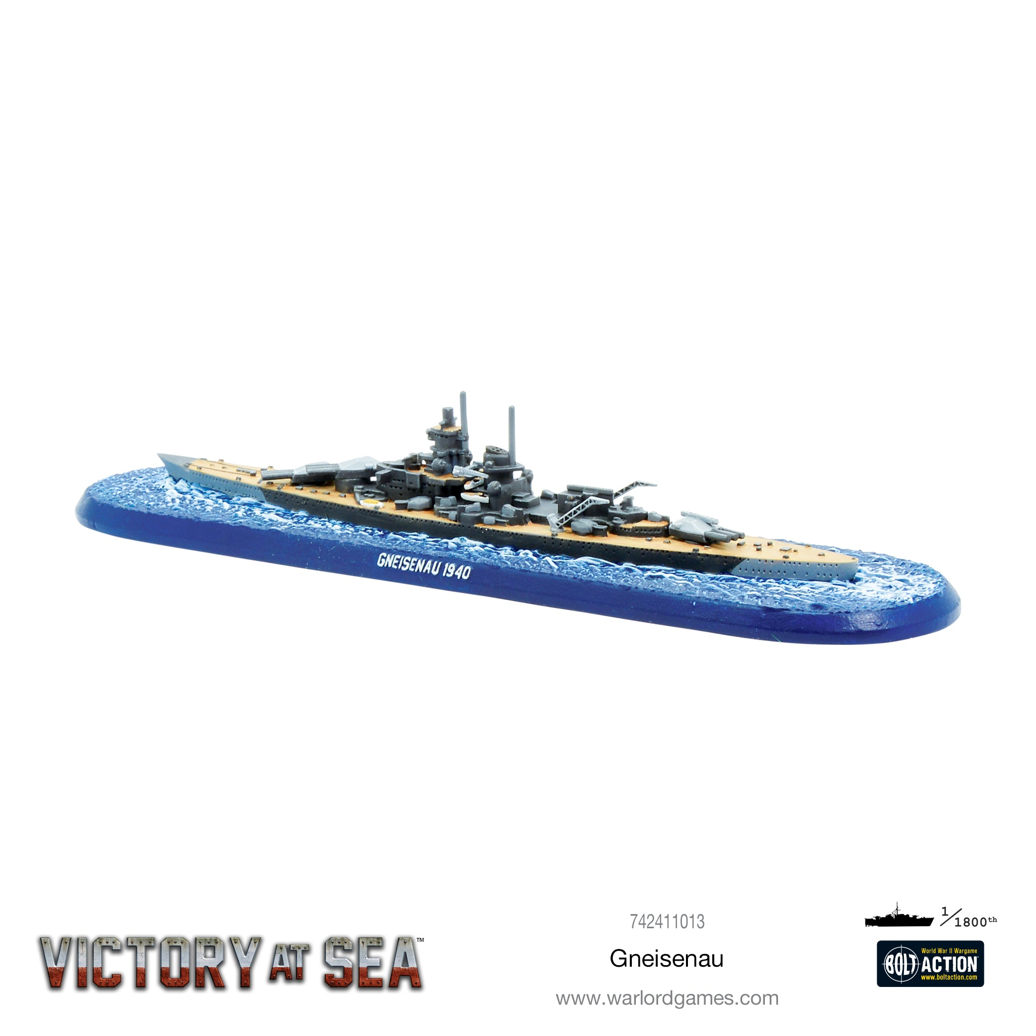 Victory at Sea - Gneisenau