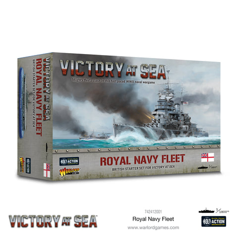 Victory at Sea Royal Navy fleet