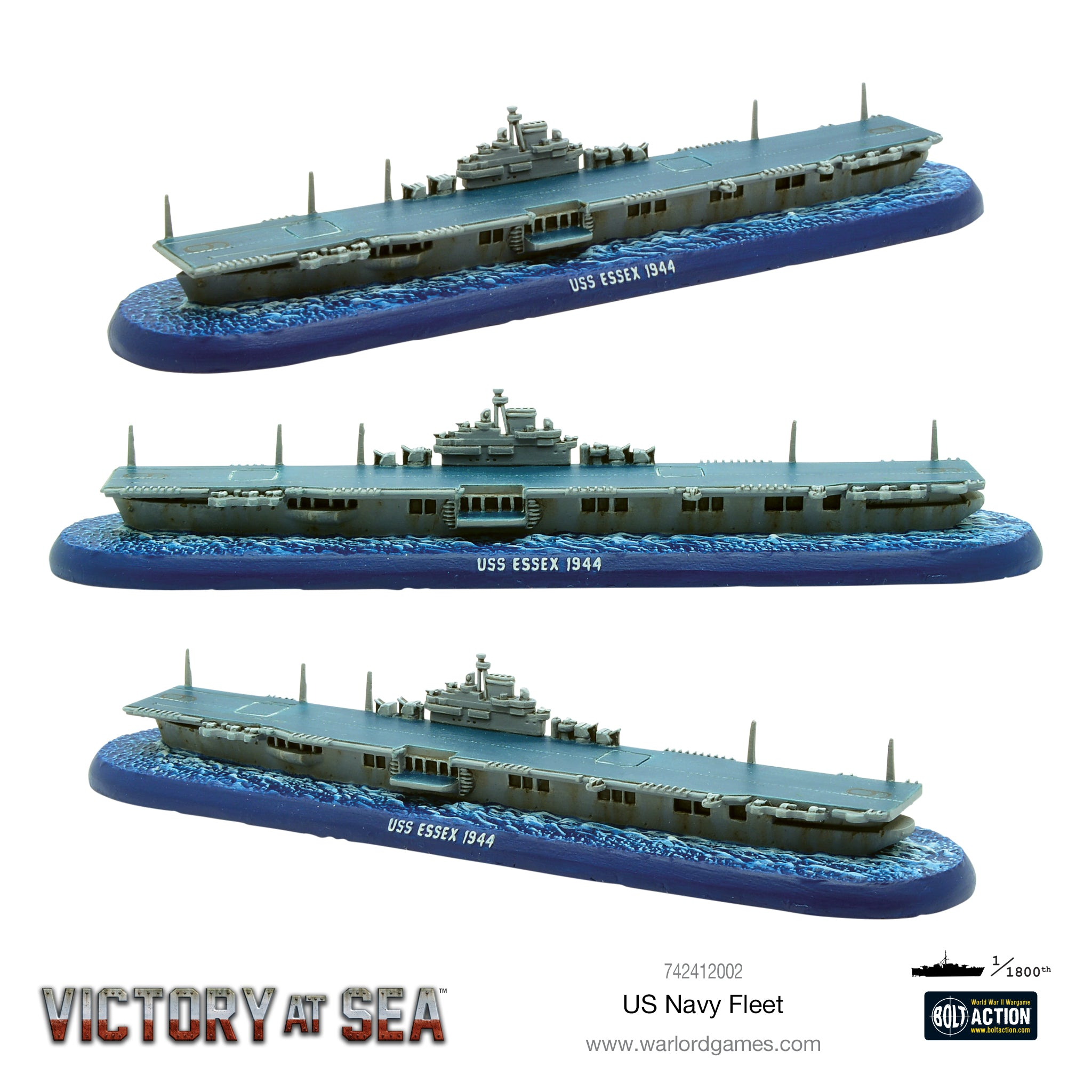 Victory at Sea US Navy fleet