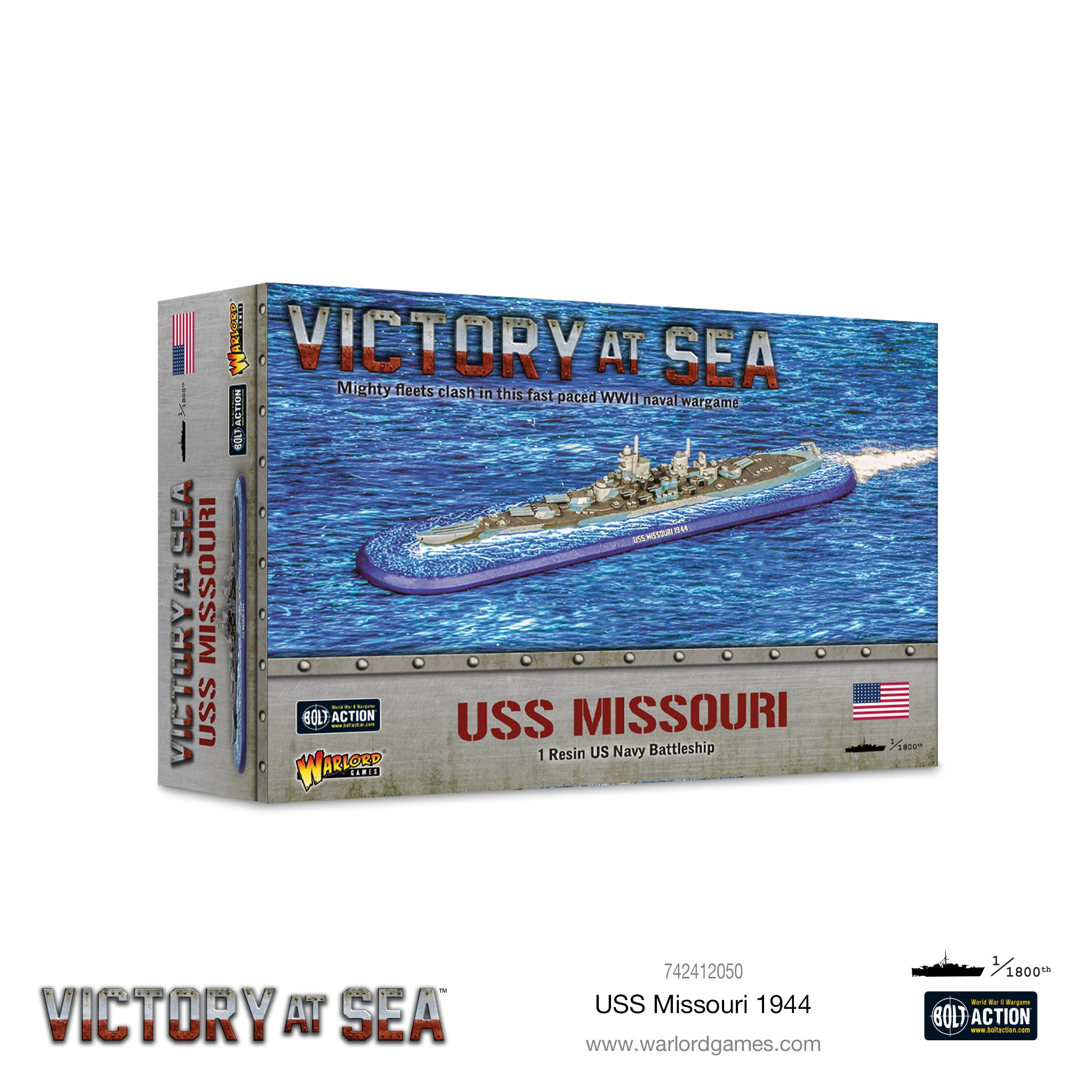Victory at Sea: USS Missouri