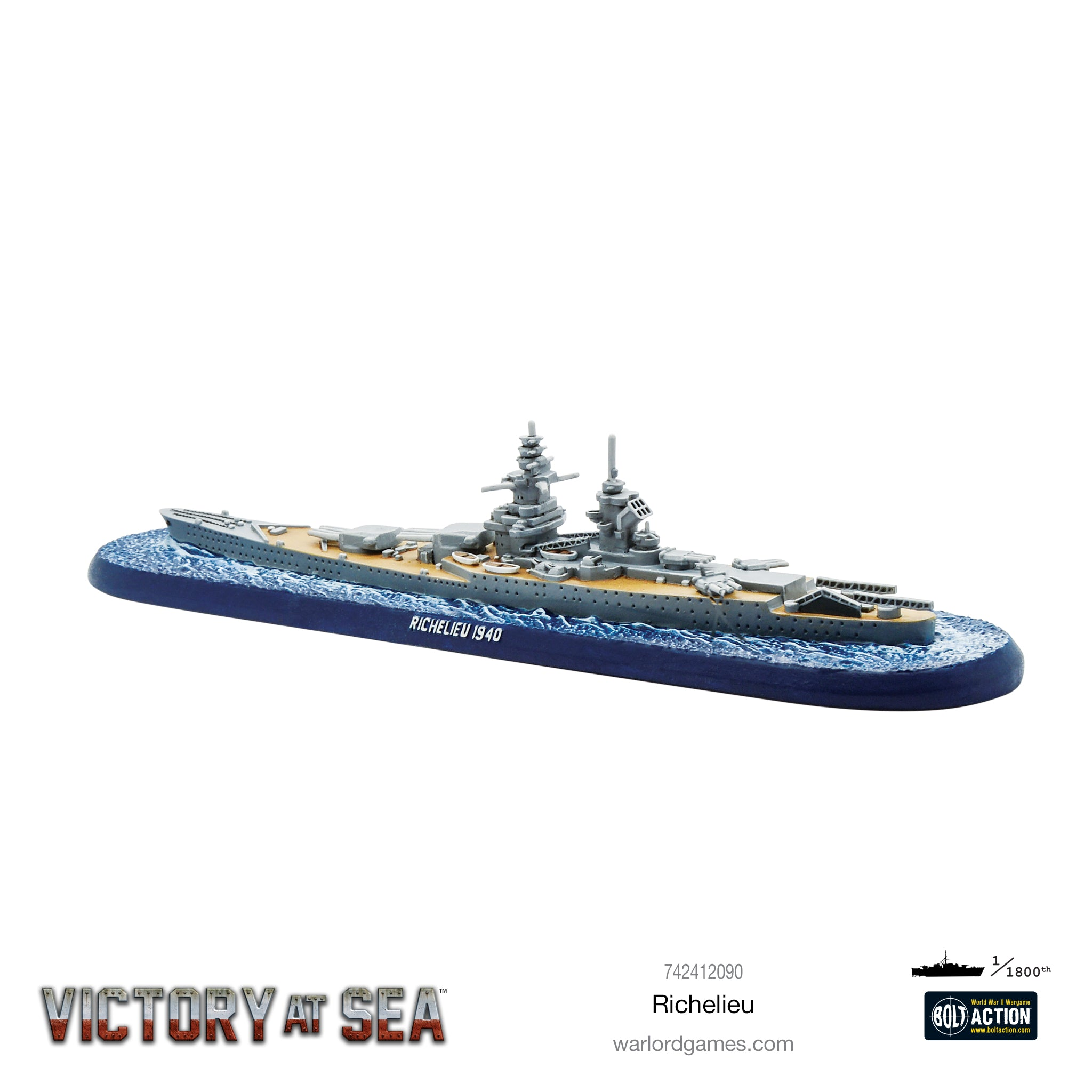 Victory at Sea: Richelieu