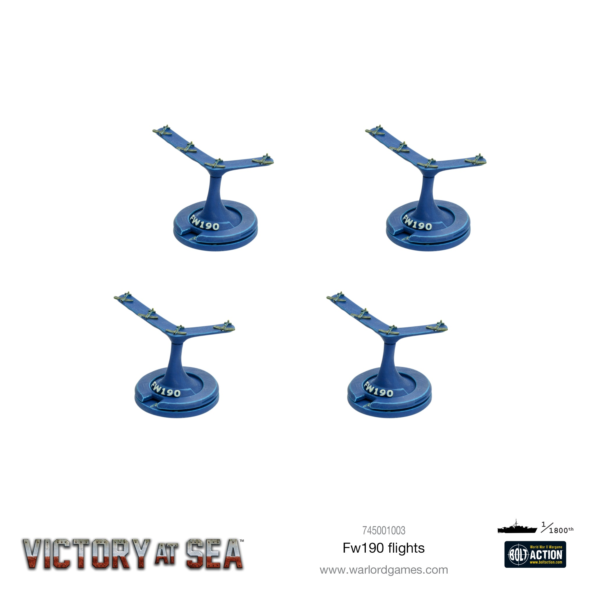Victory at Sea - FW 190 Flights