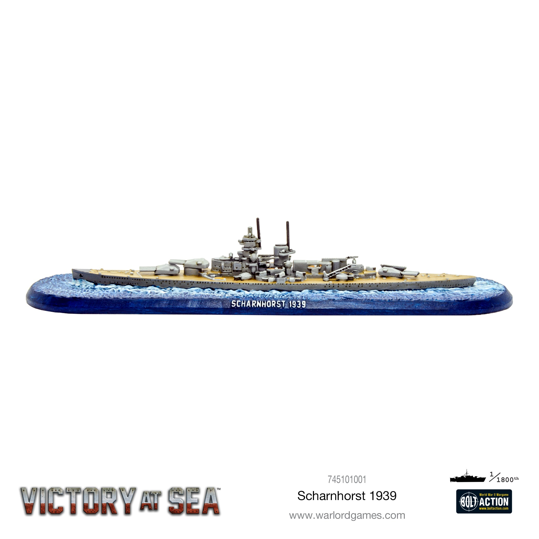 Victory at Sea - Scharnhorst