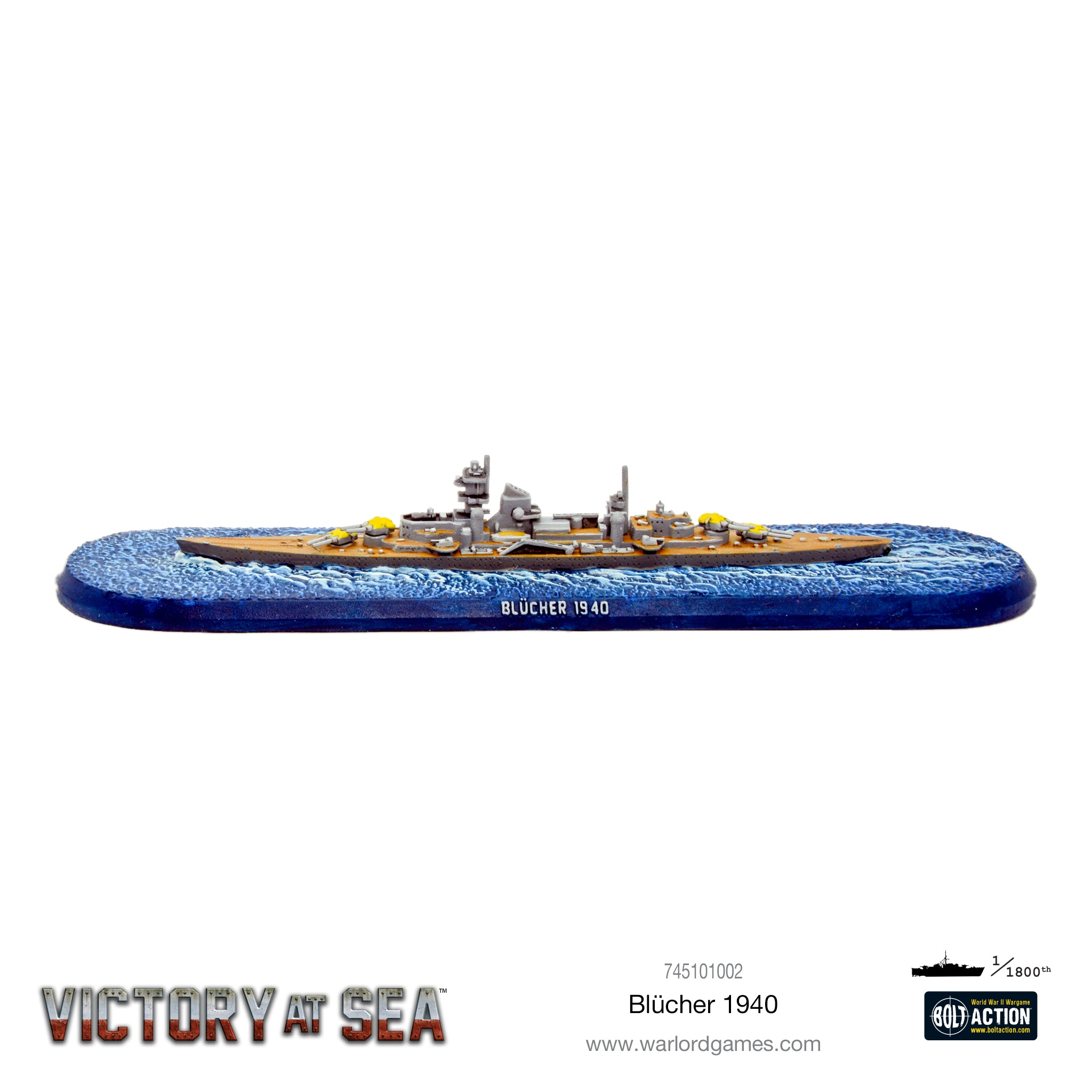 Victory at Sea - Blücher
