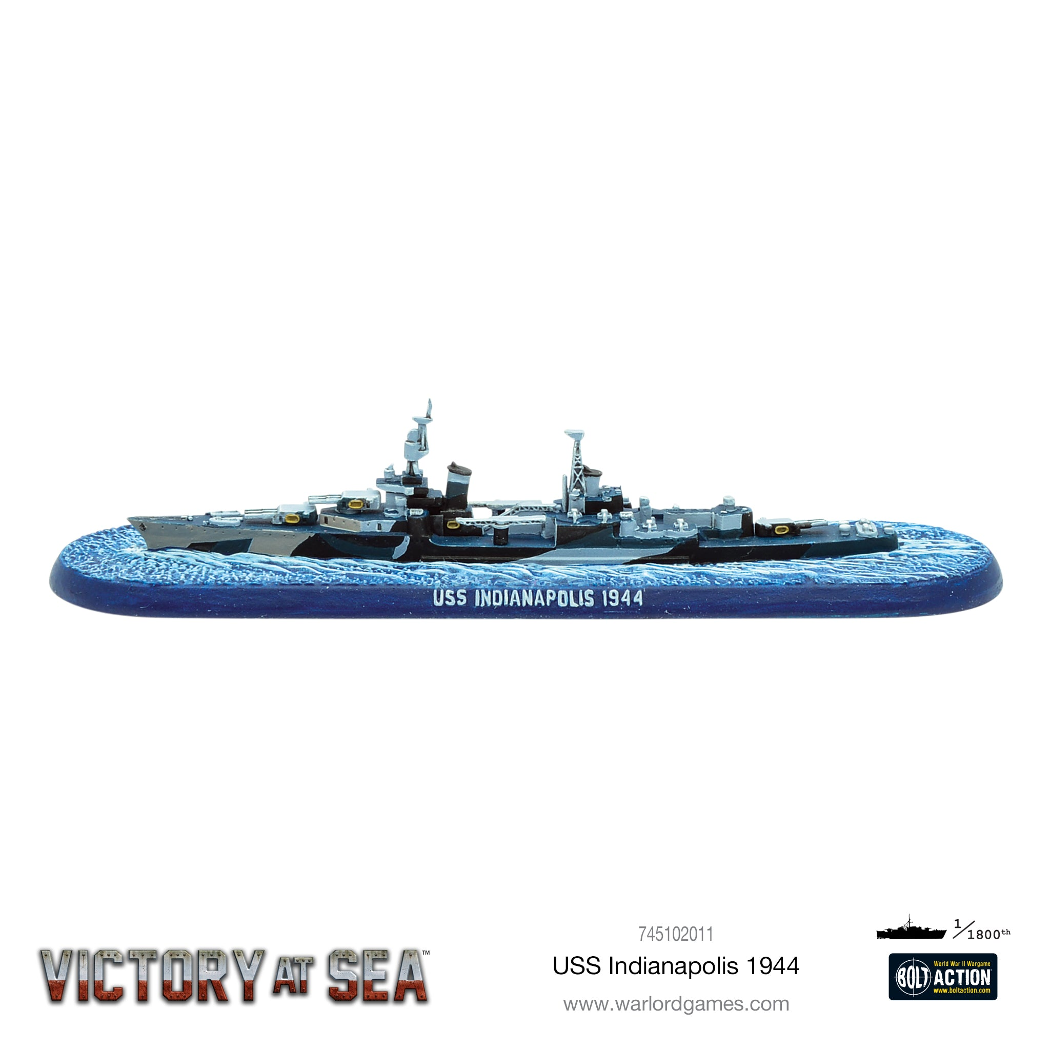 Victory at Sea USS Indianapolis 1944
