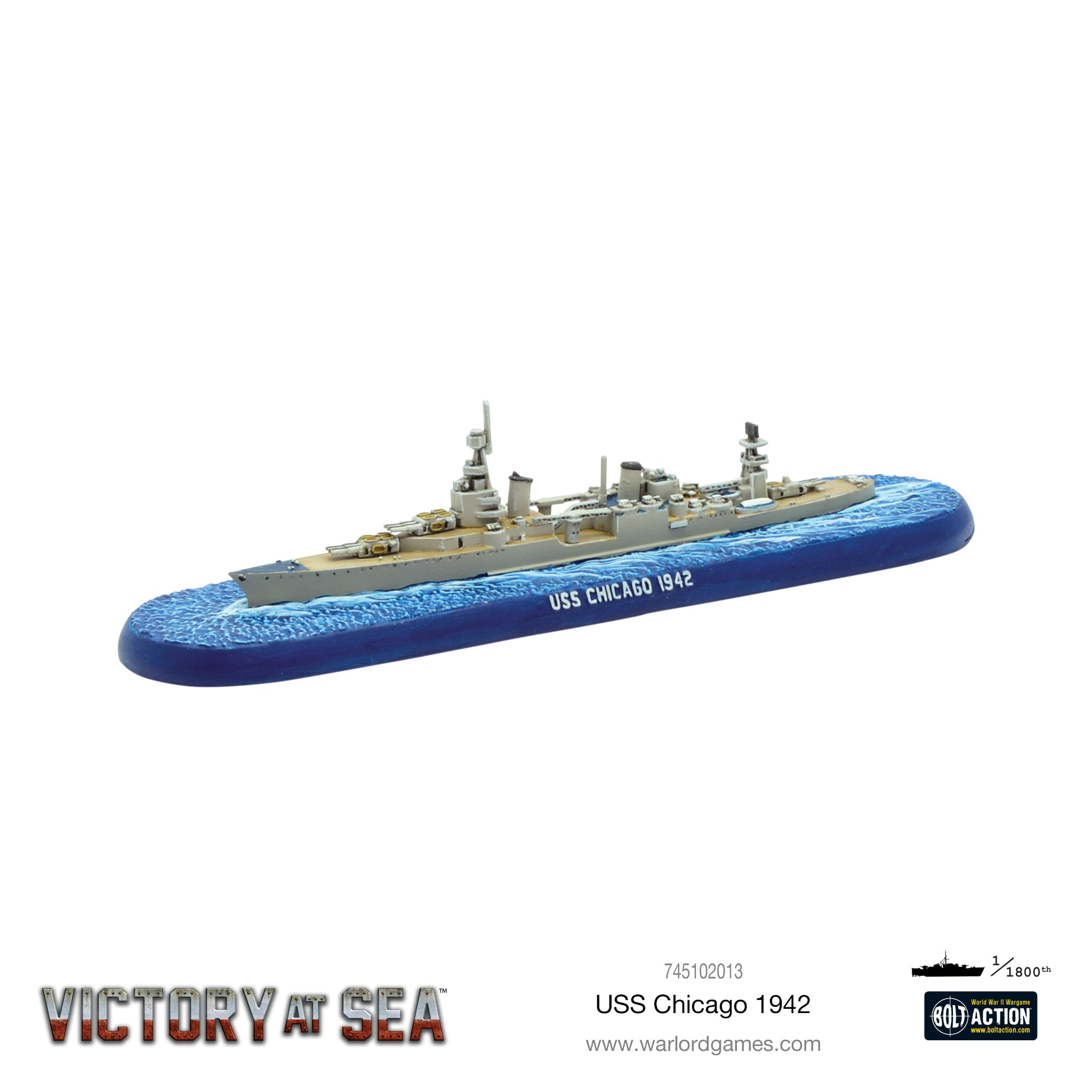 Victory at Sea USS Chicago 1942