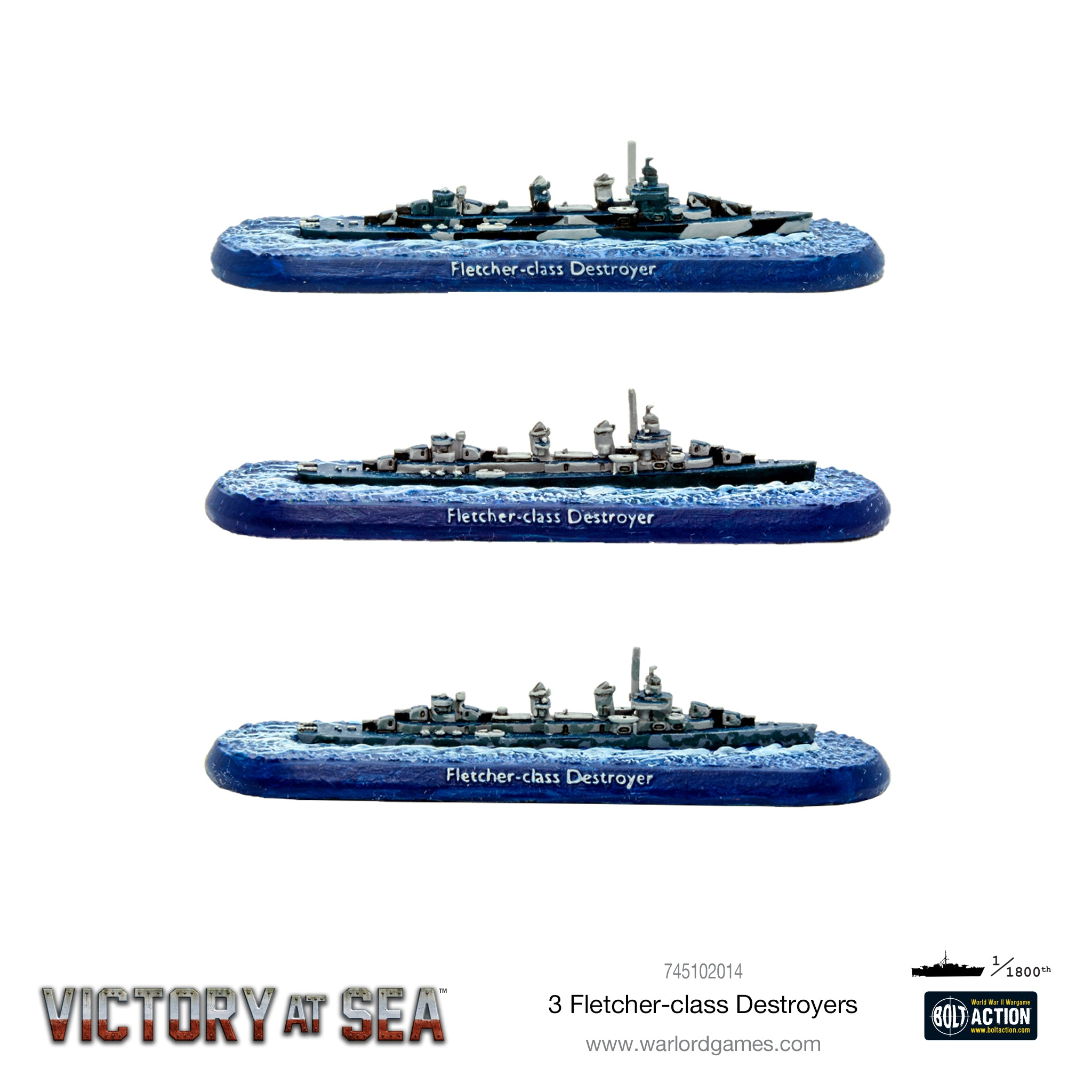 Victory at Sea Fletcher-class Destroyers