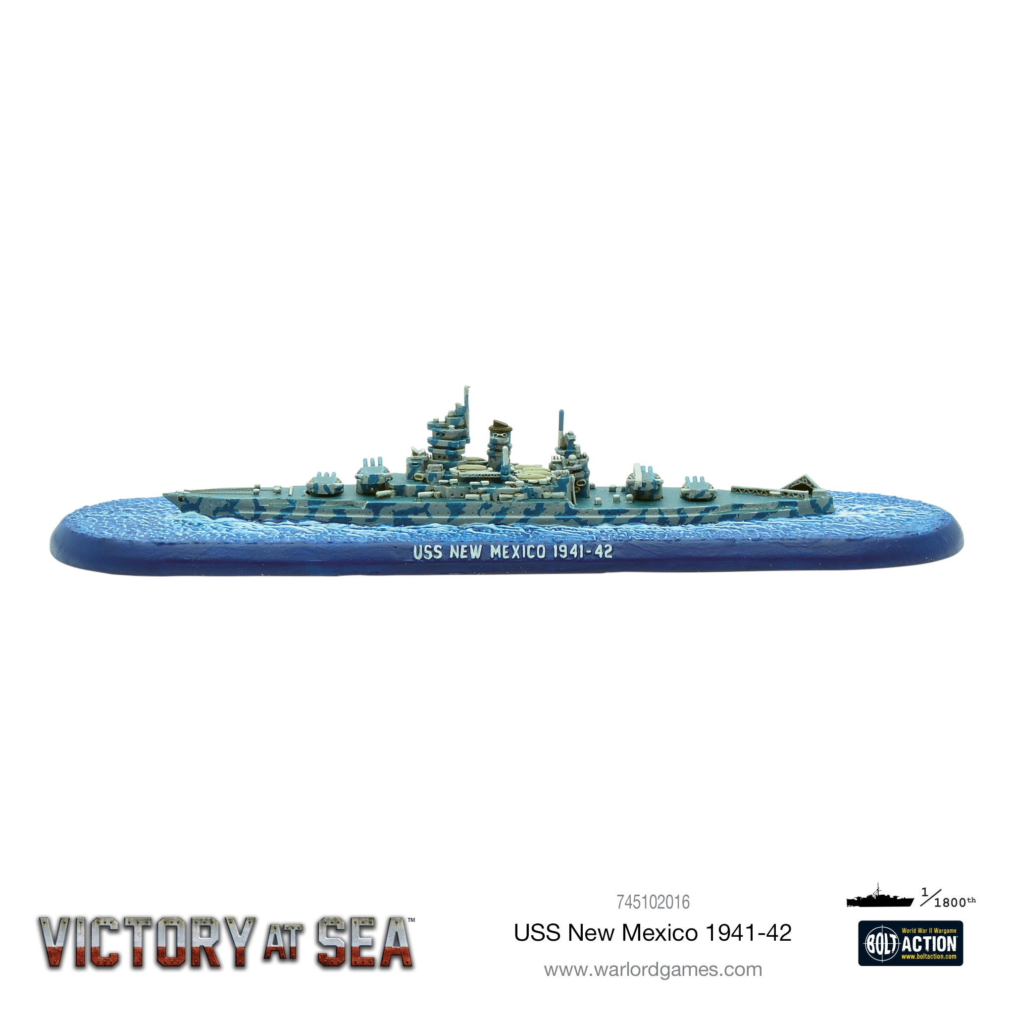 Victory at Sea - USS New Mexico