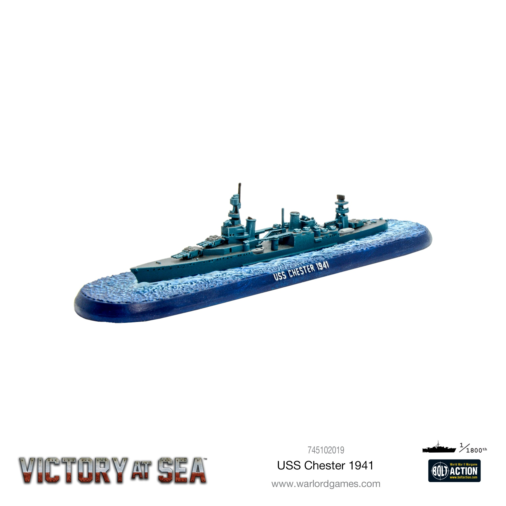 Victory at Sea - USS Chester
