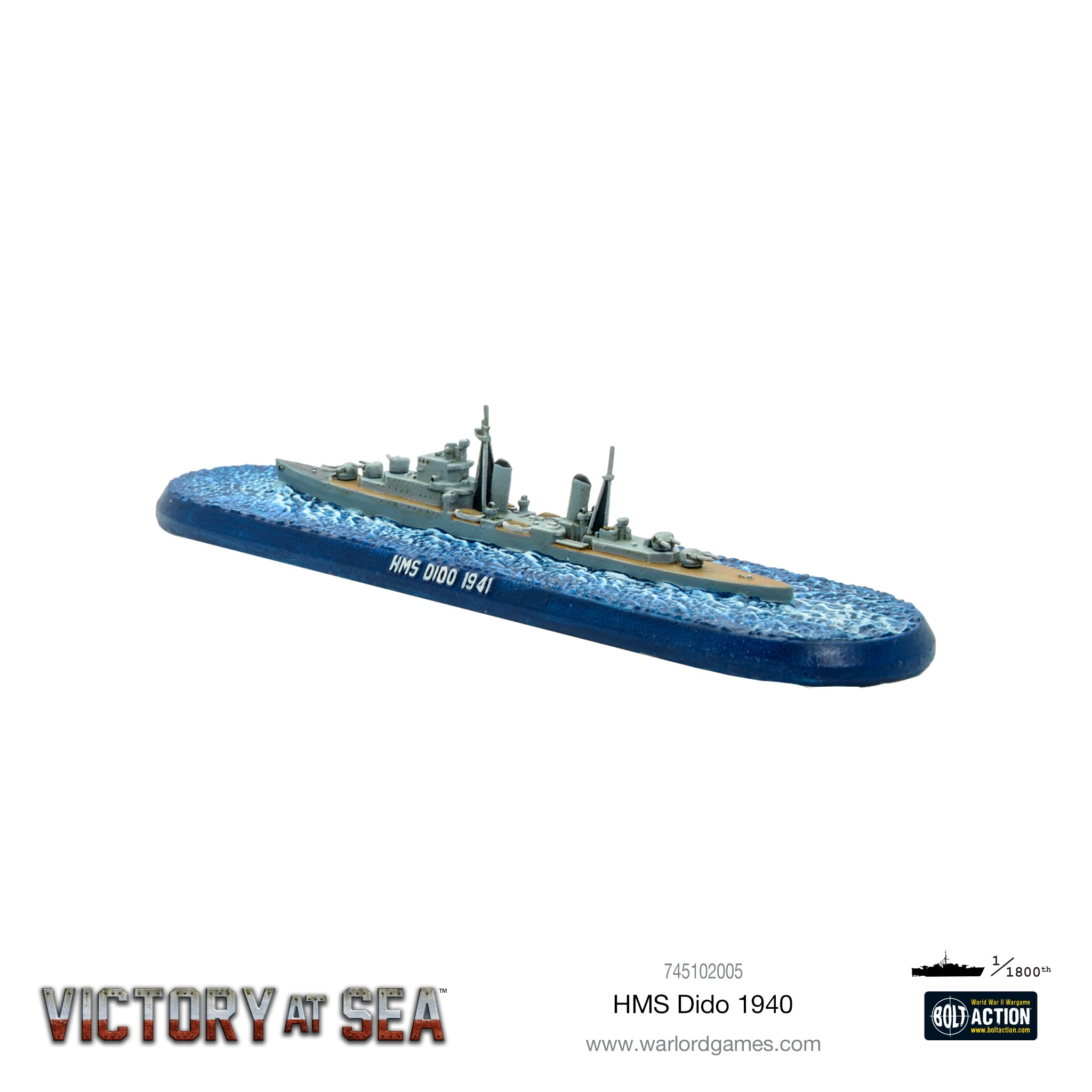 Victory at Sea - HMS Dido
