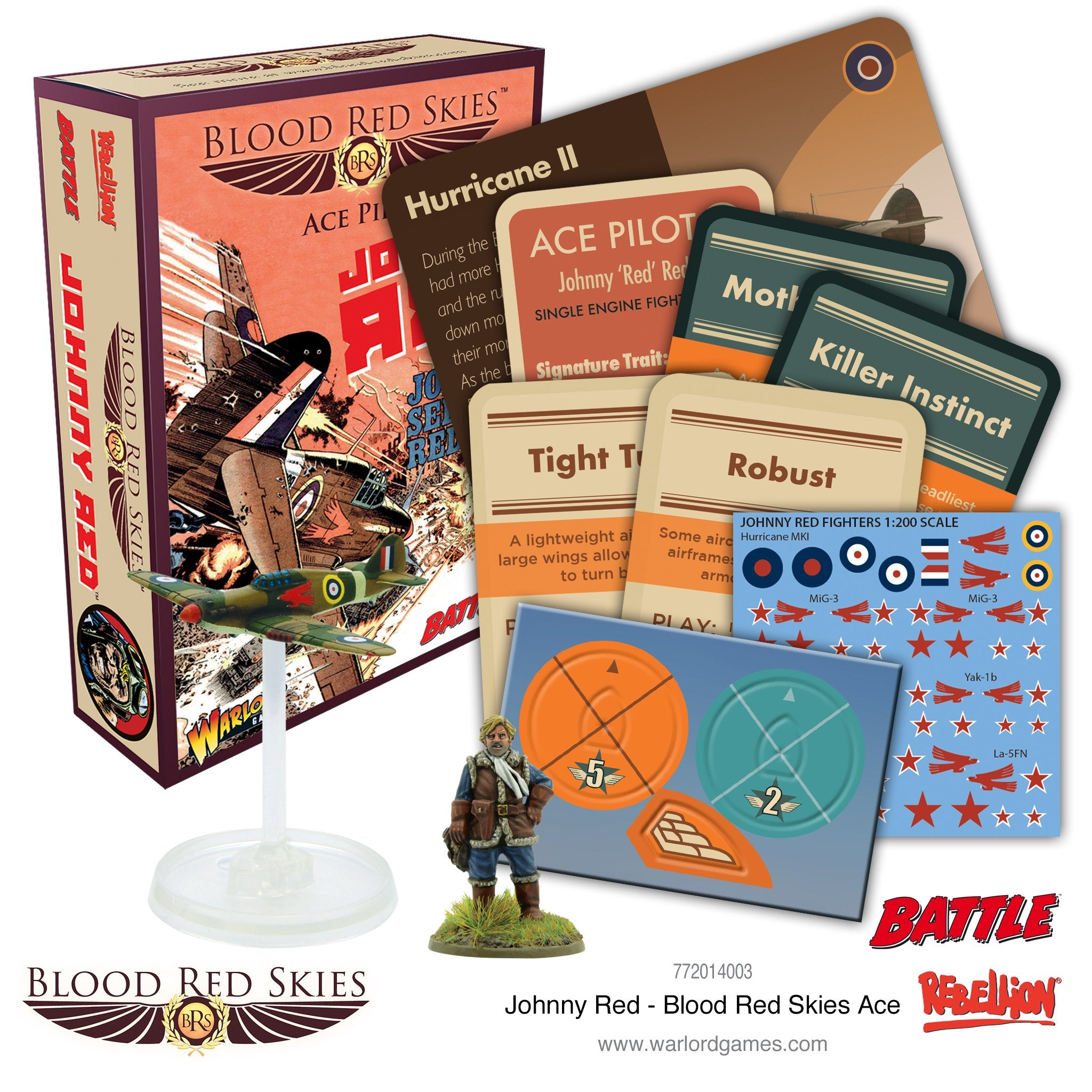 Johnny Red - Blood Red Skies Ace
