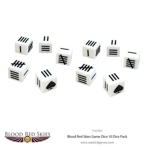 Blood Red Skies Game Dice
